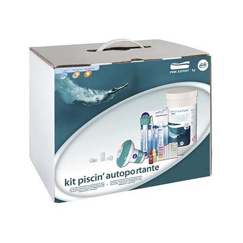 Piscine GRE - Kit piscine da 5 a 15 m3 e da 15 a 30 m3 - 08731 08732